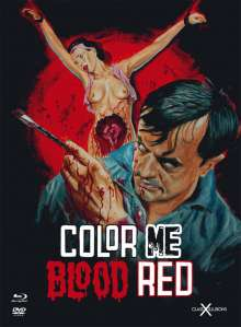 Color Me Blood Red (Blu-ray & DVD im Mediabook), 1 Blu-ray Disc und 1 DVD