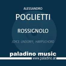 """Alessandro Poglietti: Cembalowerke """"Rossignolo"""", CD"""