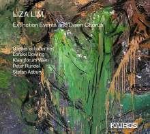 Liza Lim (geb. 1966): Extinction Events and Dawn Chorus, CD