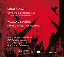 Luigi Nono (1924-1990): Como una ola de fuerza y luz, CD