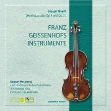 Joseph Wölfl (1773-1812): Streichquartette op.4 Nr 3 & op.10 Nr.1 & 4, CD