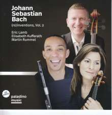 "Musik für Flöte, Viola & Cello ""Bach (re) inventions Vol.2"", CD"