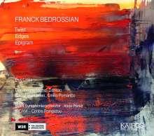 Franck Bedrossian (geb. 1971): Twist für Orchester & Elektronik, CD