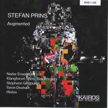 """Stefan Prins (geb. 1979): Kammermusik """"Augmented"""", 2 CDs"""