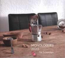 Fie Schouten - Monologues 2020, CD