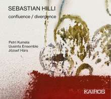 Sebastian Hilli (geb. 1990): Confluence / Divergence für Gitarre & Ensemble, CD