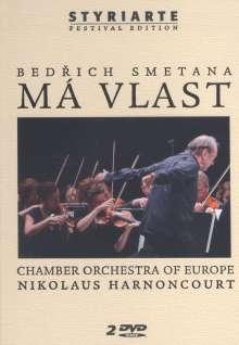 """Bedrich Smetana (1824-1884): Mein Vaterland (incl.""""Die Moldau""""), 2 DVDs"""