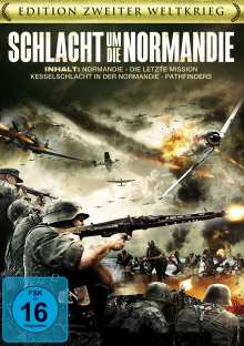 Schlacht um die Normandie (3 Filme), DVD