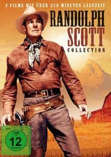 Randolph Scott Collection (4 Filme auf 1 DVD), DVD