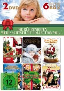 Die rührendsten Weihnachtsfilme 4 (6 Filme auf 2 DVDs), 2 DVDs