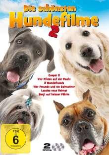 Die schönsten Hundefilm Edition 2 (6 Filme auf 2 DVDs), 2 DVDs