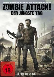 Zombie Attack! Der jüngste Tag (4 Filme auf 2 DVDs), 2 DVDs