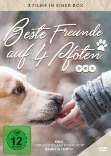Beste Freunde auf vier Pfoten, 3 DVDs
