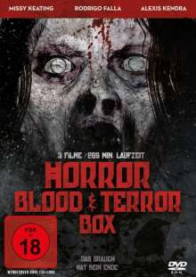 Horror Blood and Terror Box, DVD