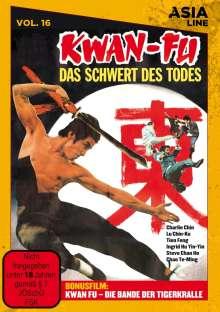 Kwan Fu - Das Schwert des Todes, DVD