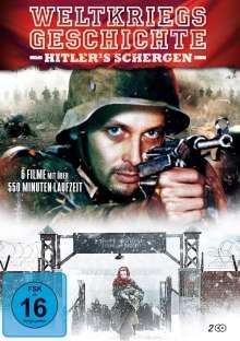 Weltkriegsgeschichte in einer Collection (6 Filme auf 2 DVDs), 2 DVDs