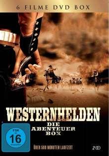 Westernhelden - Die Abenteuer Box (6 Filme auf 2 DVDs), 2 DVDs