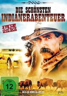 Die schönsten Indianerabenteuer (4 Filme auf 2 DVDs), 2 DVDs