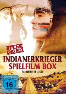 Indianerkrieger Spielfilm Box (4 Filme auf 2 DVDs), 2 DVDs