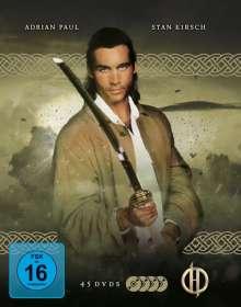 Highlander (Komplette Serie), 45 DVDs