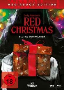 Red Christmas - Blutige Weihnachten (Blu-ray & DVD im Mediabook), 1 Blu-ray Disc und 1 DVD