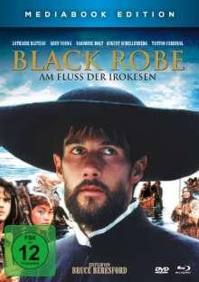 Black Robe - Am Fluss der Irokesen (Blu-ray & DVD im Mediabook), 1 Blu-ray Disc und 1 DVD