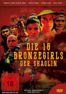 Die 18 Bronzegirls der Shaolin, DVD