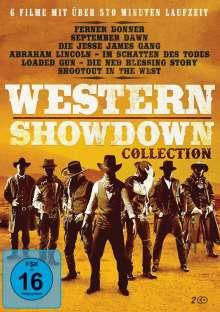 Western Showdown Collection (6 Filme auf 2 DVDs), 2 DVDs