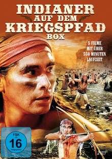 Indianer auf dem Kriegspfad Box (5 Filme auf 2 DVDs), 2 DVDs