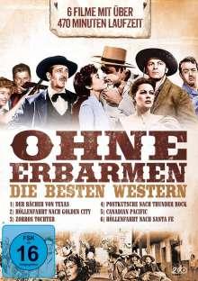 Ohne Erbarmen - Die besten Western (6 Filme auf 2 DVDs), 2 DVDs