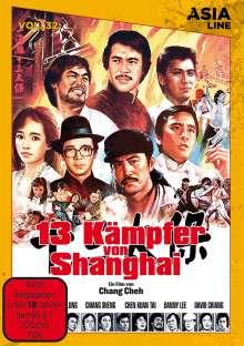 13 Kämpfer von Shanghai (OmU), DVD