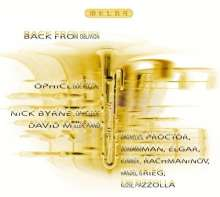 Nick Byrne & David Miller - Back From Oblivion, CD