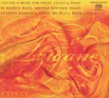 Maurice Ravel (1875-1937): Sonate für Violine & Klavier G-Dur, Super Audio CD