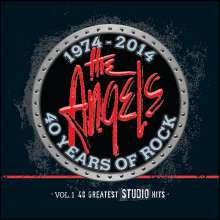 The Angels: 40 Years Of Rock Vol.1: The Studio Hits, 3 CDs