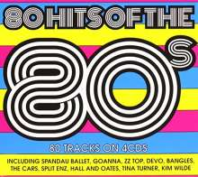 80 Hits Of The 80s, 4 CDs