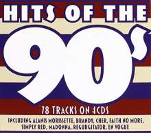 Hits Of The 90s, 4 CDs