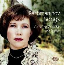 Sergej Rachmaninoff (1873-1943): Lieder, CD