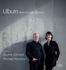 Douglas Lilburn (1915-2001): Sonaten für Violine & Klavier, CD