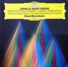 """Camille Saint-Saens (1835-1921): Symphonie Nr.3 """"Orgelsymphonie"""" (180g), LP"""