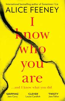 Alice Feeney: I Know Who You Are, Buch