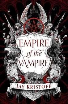 Jay Kristoff: Empire of the Vampire, Buch