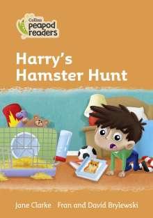 Jane Clarke: Level 4 - Harry's Hamster Hunt, Buch