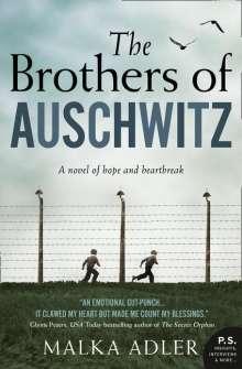 Malka Adler: The Brothers of Auschwitz, Buch