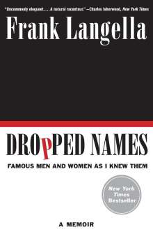 Frank Langella: Dropped Names, Buch
