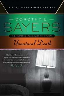 Dorothy L. Sayers: Unnatural Death, Buch