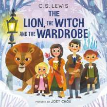 C. S. Lewis: The Lion, the Witch and the Wardrobe Board Book, Buch