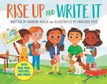 Nandini Ahuja: Rise Up and Write It: With Real Mail, Posters, and More!, Buch