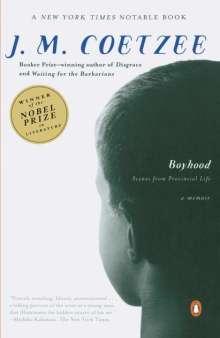 J. M. Coetzee: Boyhood: Scenes from Provincial Life, Buch