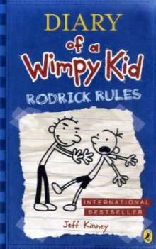 Jeff Kinney: Diary of a Wimpy Kid 02. Rodrick Rules, Buch