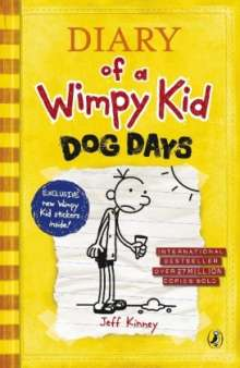 Jeff Kinney: Diary of A Wimpy Kid 04: Dog Days, Buch